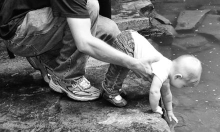 When He Holds Our Hand Across the Creeks